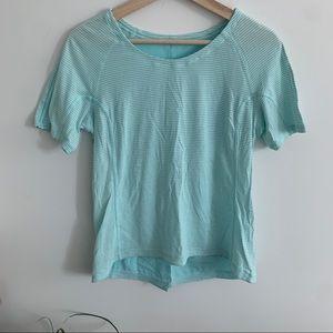 Lululemon - Blue Workout T-Shirt